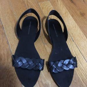 Zara sling back sandal